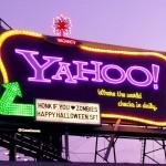 El cartel de Yahoo! se apagará en diciembre